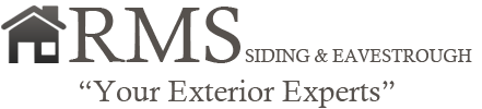 RMS Siding and Eavestrough Logo