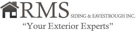 RMS Siding & Eavestrough Inc. Logo